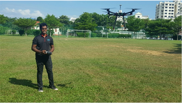 Flying a drone with your own programming code